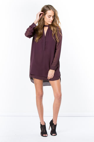 rivera-l/s v-neck 3/4 body