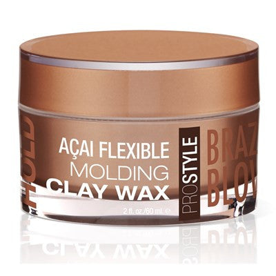 Brazilian Blowout Acai Flexible Molding Clay Wax 2 oz.