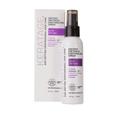 Keratage White Line Detangling Spray 4 Oz