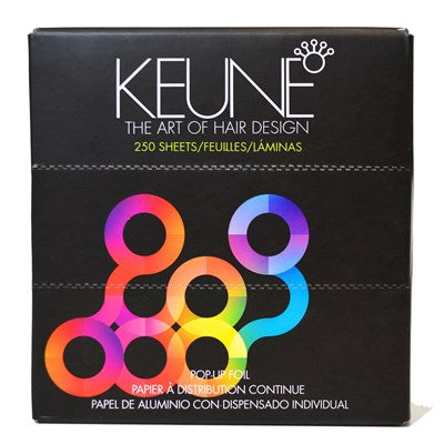 Keune Pop-Up Foil Sheets 250 ct