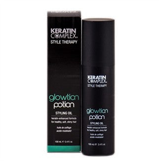 Keratin Complex Style Therapy Glowtion Potion Styling Oil - 3 oz