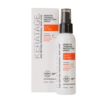Keratage White Line Keratin Thermal Protection Spray 4 Oz