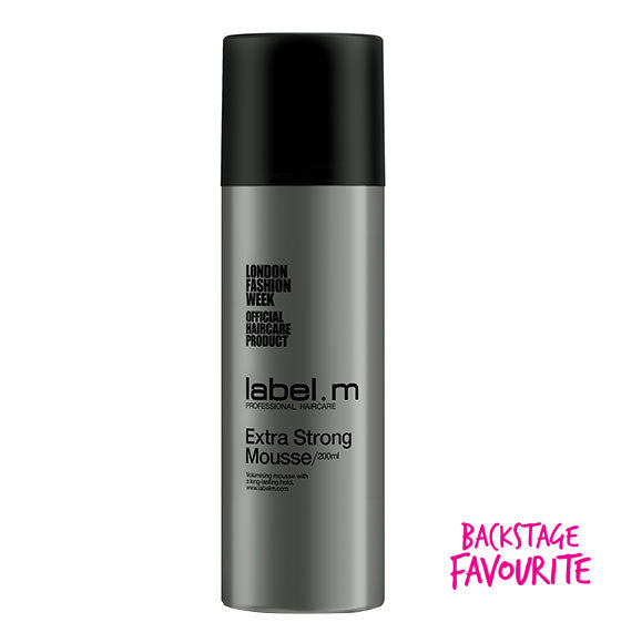 Label.m Extra Strong Mousse 6.8 Oz