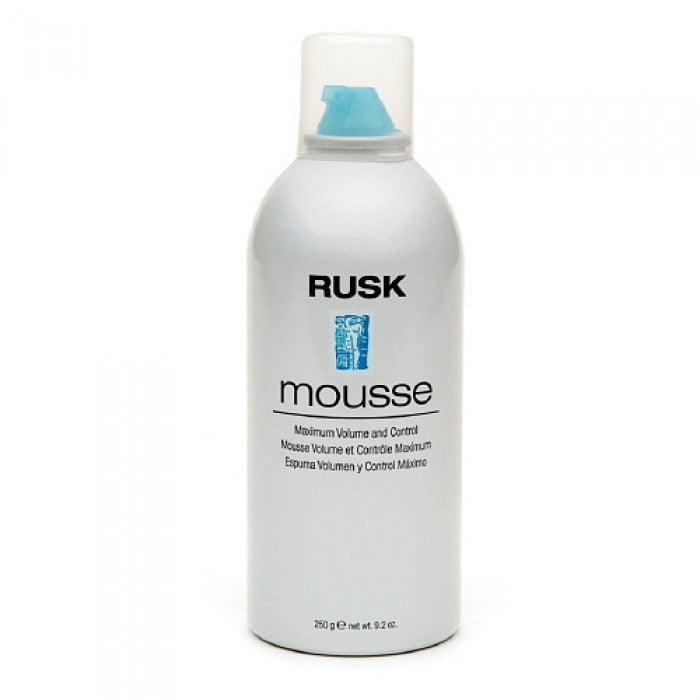 Rusk Mousse Maximum Volume and Control 5.8% 8.8 Oz