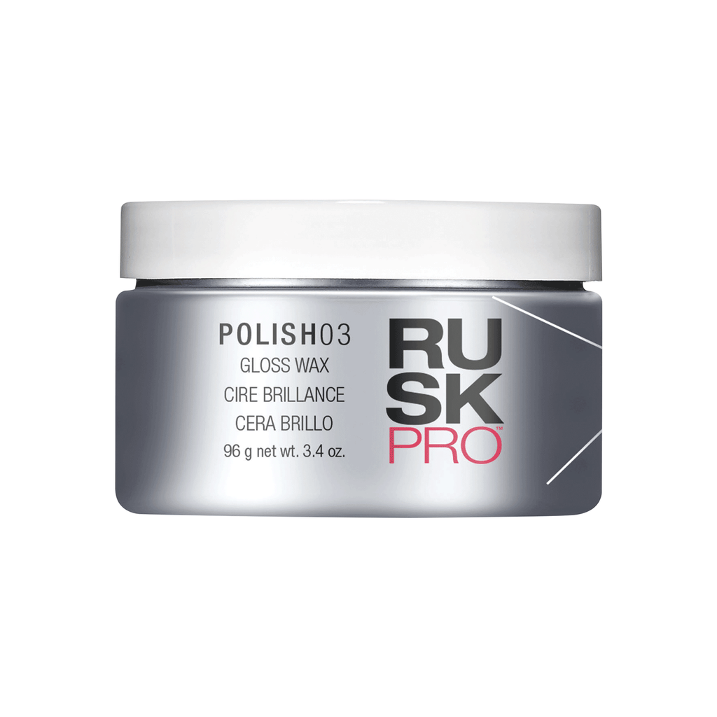 Rusk PRO Polish03 Gloss Wax 3.4 Oz