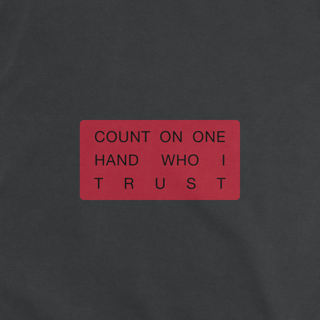 PRE-ORDER Embroidered Trust Crewneck