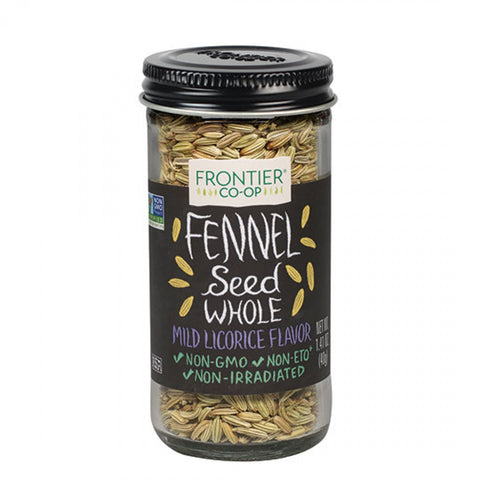 Frontier Herb Whole Fennel Seed (1x1.28 Oz)