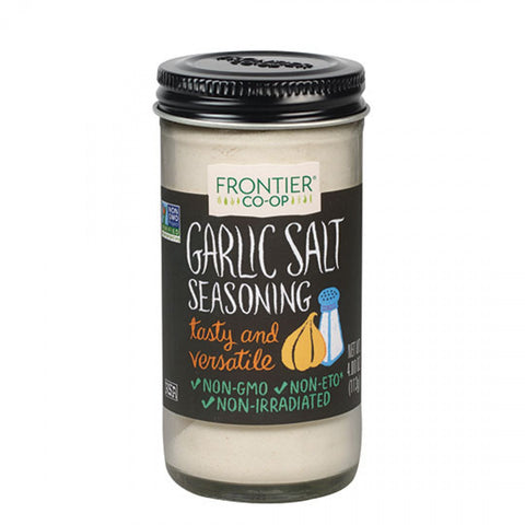 Frontier Herb Garlic Salt (1x4.16 Oz)