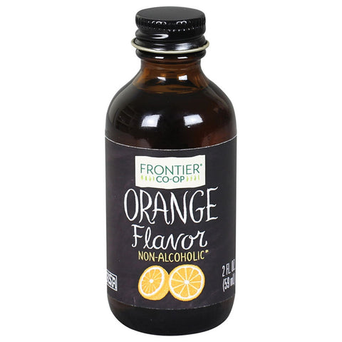 Frontier Herb Orange Flavor (1x2 Oz)