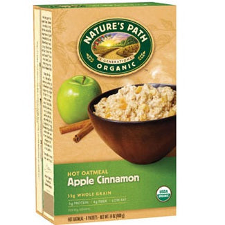 Nature's Path Apple Cinnamon Oatmeal Pouch (6x8x1.75Oz)