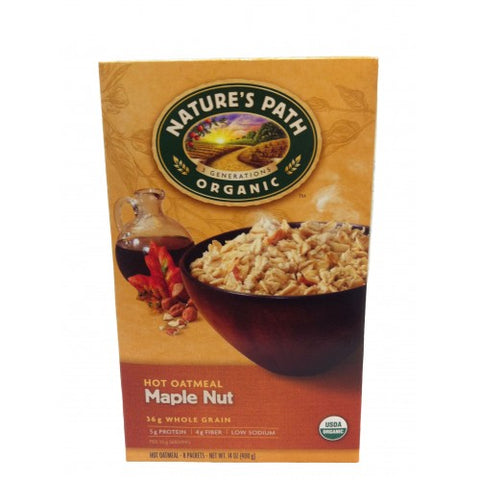 Nature's Path Maple Nut Oatmeal Pouch (6x8x1.75Oz)