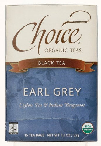 Choice Organic Teas Earl Grey (6x16 Bag)