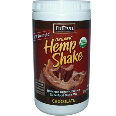 Nutiva Chocolate Hemp Shake (1x16 Oz)