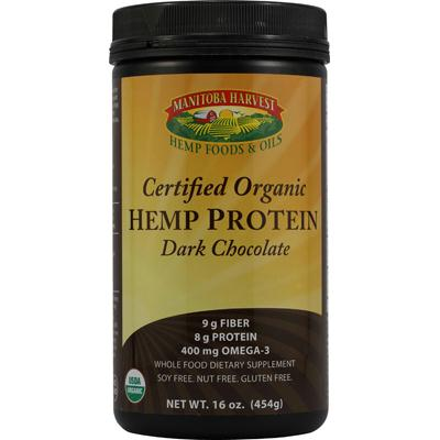 Manitoba Harvest Dark Chocolate Hemp Protein (1x16 Oz)