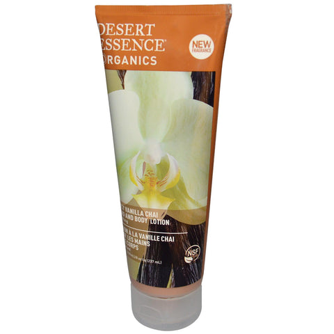 Desert Essence Vanilla Chai Hand & Body Lotion (1x8 Oz)