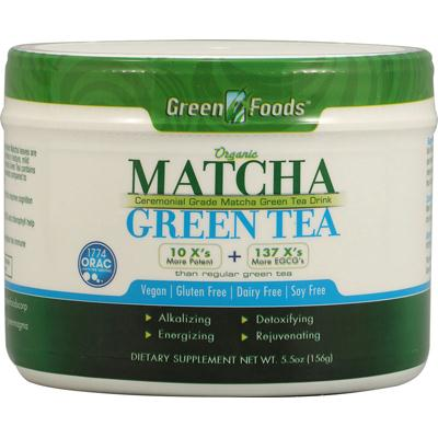 Green Foods Matcha Green Tea (1x5.5 Oz)