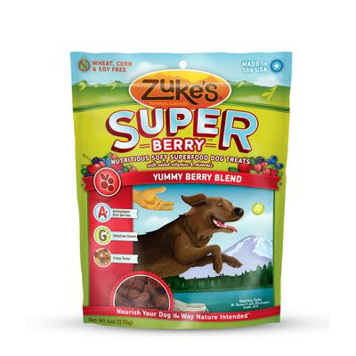 Zuke's Soft Superfood Berry Dog Treat (1x3Oz) - Forever Young Organics