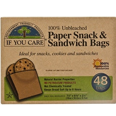 If You Care Soy Wax Paper Sandwich Bag (12x48 CT)