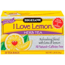 Bigelow I Love Lemon Herbal Tea (6x20 Bag )