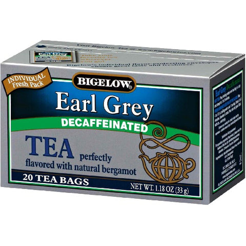 Bigelow Decaffeinated Earl Grey Tea (6x20 Bag )