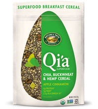 Nature's Path Qi'a Superfood Apple Cinnamon Chia, Buckwheat & Hemp Cereal (10x7.94 Oz)