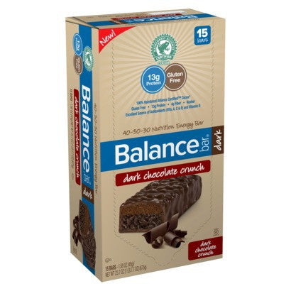 Balance Bar Company Dark Chocolate Crunch (15x1.58 Oz) - Forever Young Organics