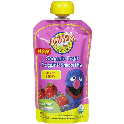 Earth's Best Baby Foods Mixed Berry Juice (2x6x4.2 Oz)