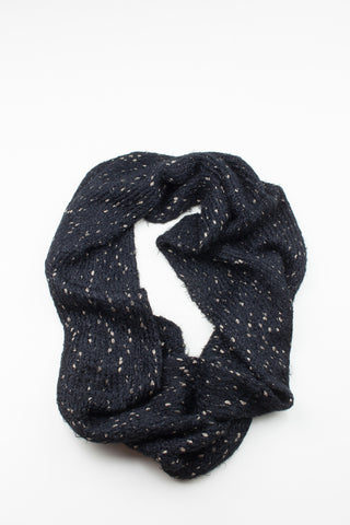 Soft Black Regular Length Faux Fur Scarf