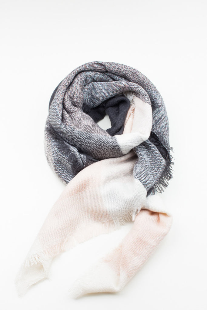 Full Contrast Winter Scarf