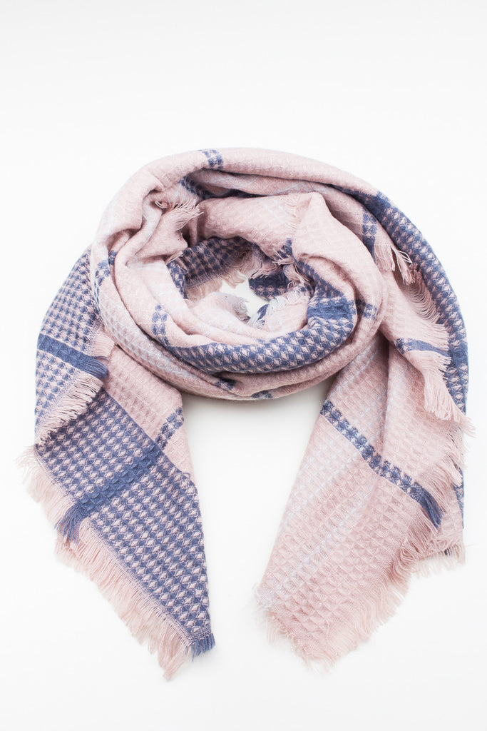 Hampstead Check Scarf