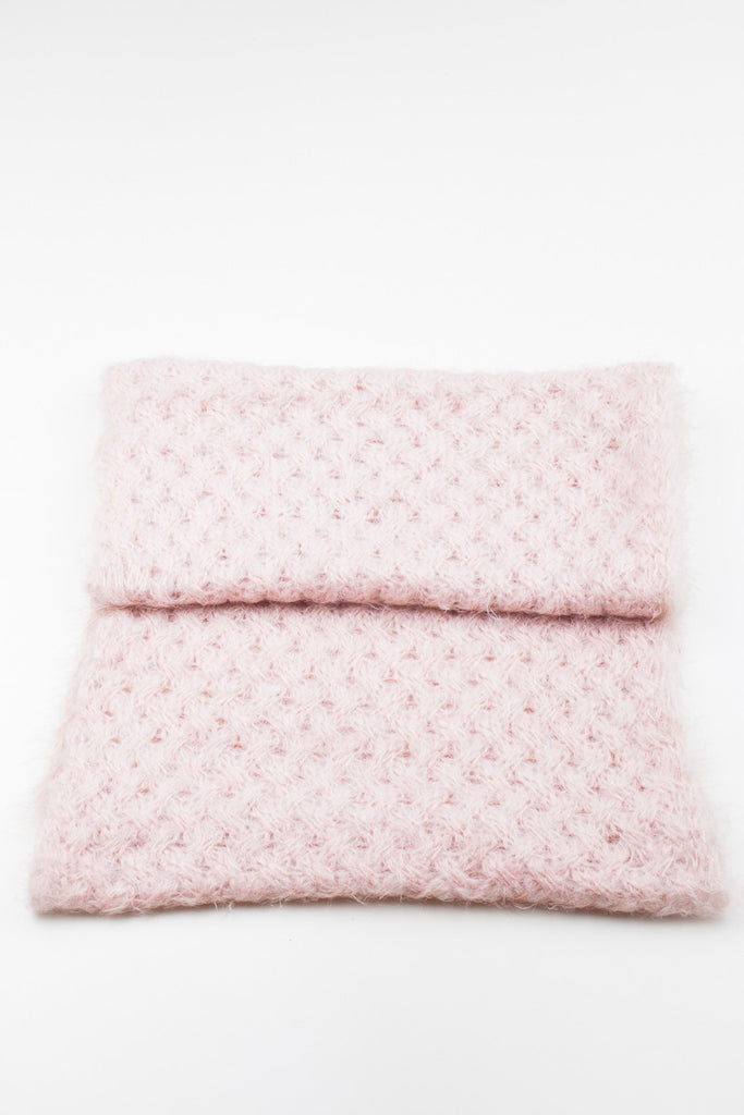 Pink Melissa Soft Knitted Snood