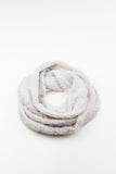 Cream Dalston Soft Knitted Snood