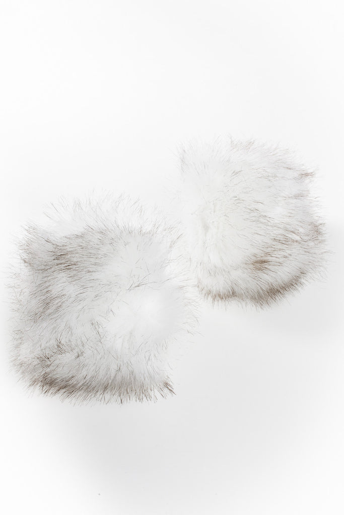 Smokey Faux Fur Cuffs