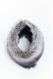 Grey Collar Faux Fur Scarf - GW Clarissa