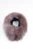Lilac Collar Faux Fur Scarf