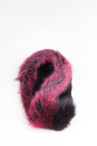 Colour-Block Collar Faux Fur Scarf