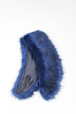 Midnight Regular Length Faux Fur Scarf - GW Clarissa