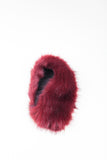 Cherry Collar Faux Fur Scarf