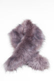 Light Browny Regular Length Faux Fur Scarf