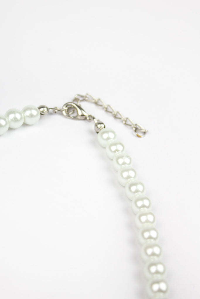Diana Pearl Diamond Detail Necklace