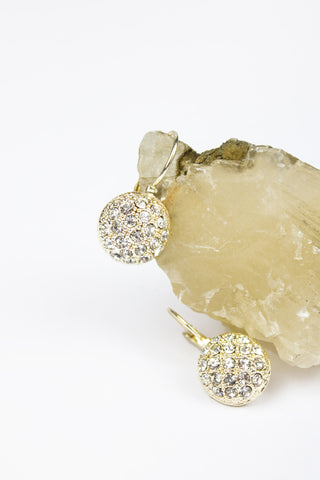 Kate Crystal Drop Earrings