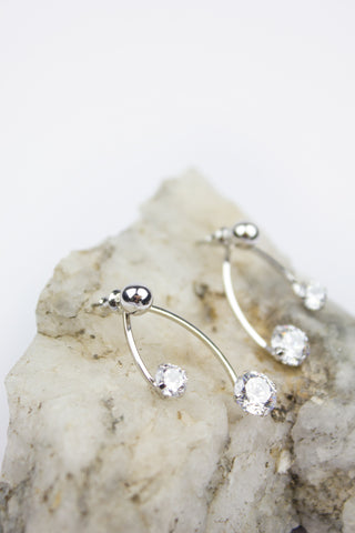Pretty Bling Stud Earring Set