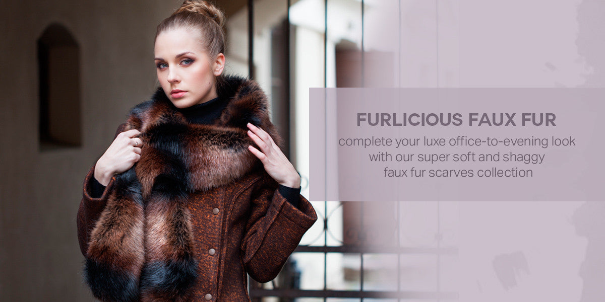 Faux Fur Scarves