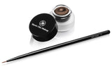 Mystic Chic Makeup Luxe Creme Liner in (Mahogany) with Fine Liner Brush