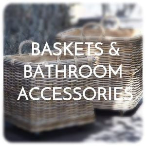 Baskets & bathroom accessories