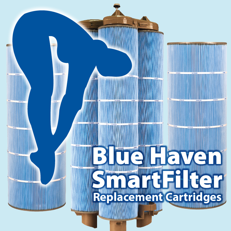 Blue Haven Exclusive SmartFilter™ Replacement Cartridges  with Microban®