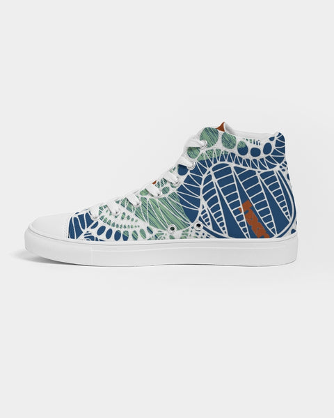 Step Lively  Women's Hightop Canvas Shoe
