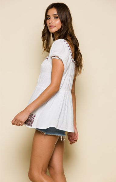 ENSENADA PEASANT TOP