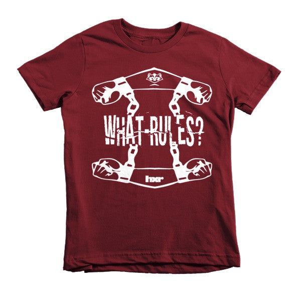 What Rules? Short sleeve kids t-shirt