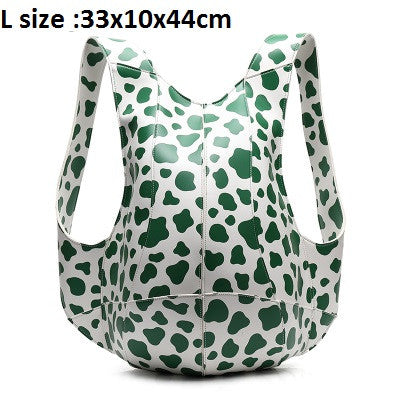 HXR - Women Tortoise Backpack Bags Travel Casual Shoulder Bag Leather